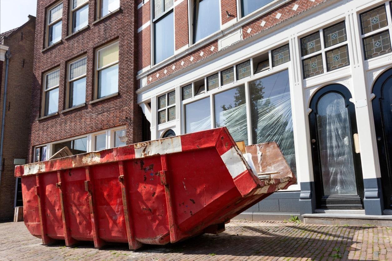 dumpster trailer