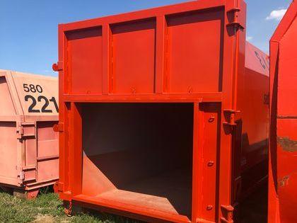 Receiver for Stationary Trash Compactor